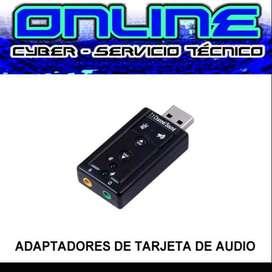 ADAPTADOR DE TARJETA DE AUDIO