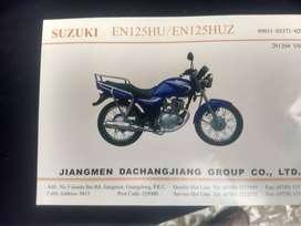 Parrilla Soporte Moto Suzuki 125