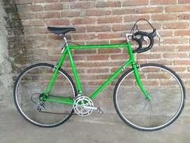 Bici López Álvarez restaurada