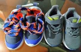 Se vende zapatos marca Adidas y Offcorss nuevos para bebe