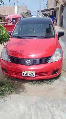 Nissan Tiida auto en venta usado en buen estado