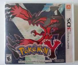 Juego POKEMON Y original para Nintendo 3DS