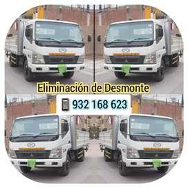Eliminación de Desmonte / Lima - Perú