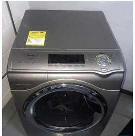 Lavadora secadora eléctrica Haceb excelente estado