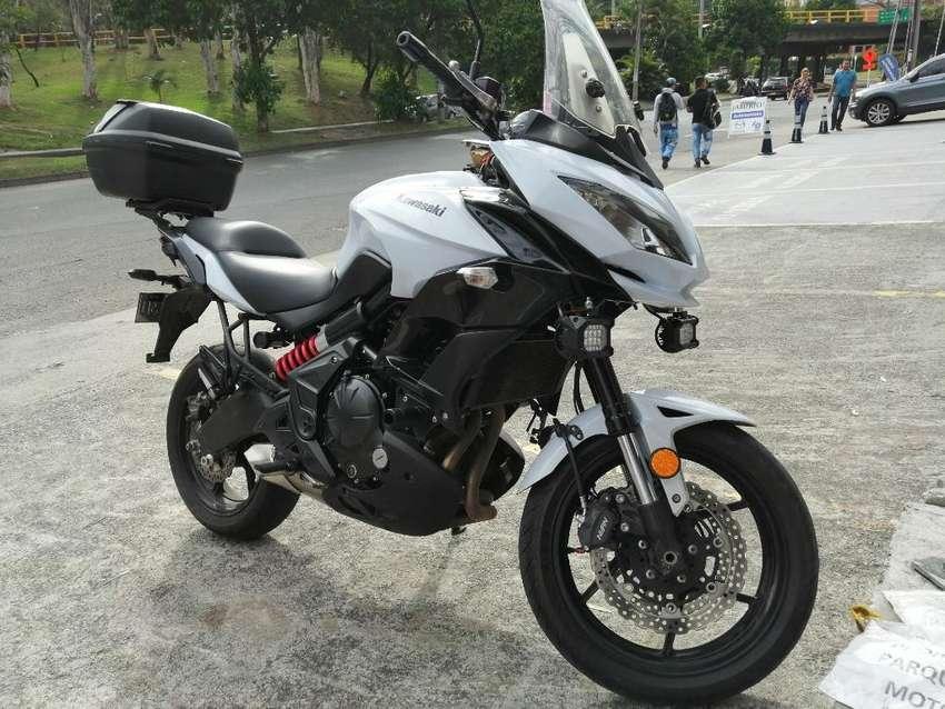 Kawasaki Versys 650 2015 Como Nueva 0