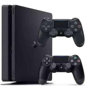 PlayStation 4 Slim 500gb + 2 Controles + 3 Juegos + Usado