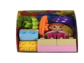Fichas grandes armable tipo lego muñeca juguete navidad bebe