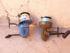 vendo 2 equipos de pesca de costa completo