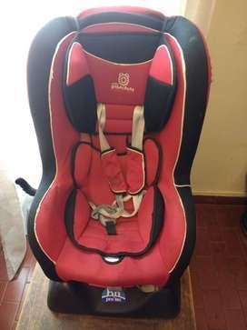 Butaca de bebe para bebe