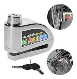 Candado con alarma para disco de freno para moto y bicicleta (pagas al recibir el producto))