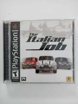Juego THE ITALIAN JOB original para PlayStation PS1 PSX PS2 PS3 Play Station