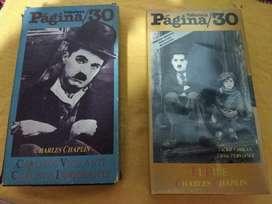Peliculas en Vhs Chaplin