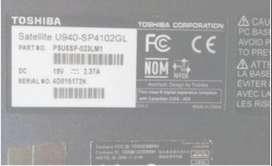 repuestos partes Ultrabook Toshiba Satellite U940-SP4102GL