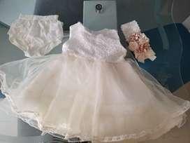 Vestido niña cualquier ocasión talla 6 a 8 meses