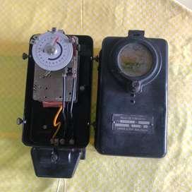 Antiguo reloj de contacto