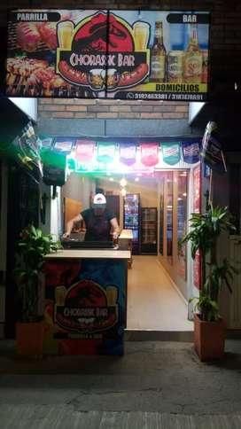 Vendo o permuto negocio parrilla bar ,comidas rápidas ubicado en sector comercial fontibon
