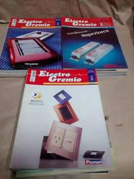 Lote de revistas electrogremio