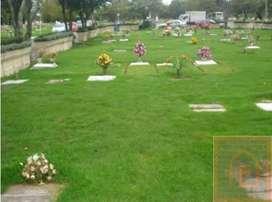 Vendo lote doble en el cementerio  las colinas