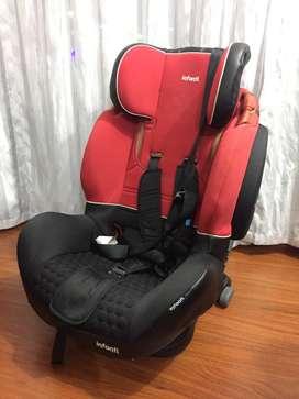 Silla de carro ELITE RED BLACK INFANTI BH123121