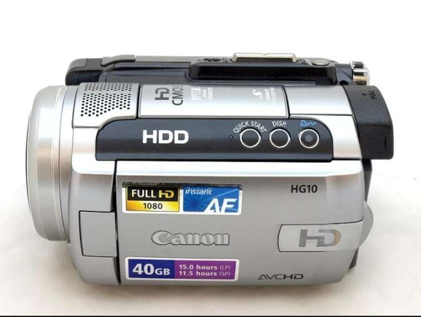Videocamara Canon Hg10 Full Hd Filmadora 0