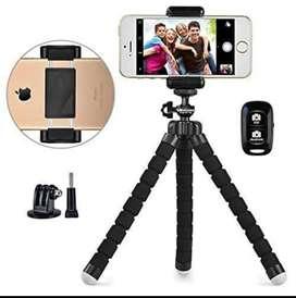 Tripoide flexible para el celular + Control Bluetooth de fotos