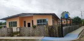 Se alquila casa independiente en la parroquia Ricaurte de Chone