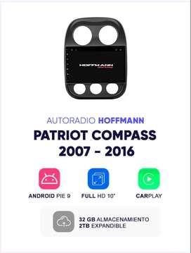 Autoradio Android  Homologado Jeep Patriot Compass 2007–2016 10''