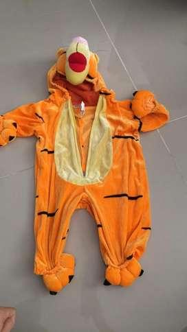 Disfraz de Tigger Niño 8-10 Meses
