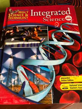 Integrated Science Level Red  - 8 Grade (Solo Libro)