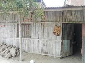 Se Vende Casa de Material Rustico