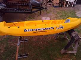 Kayak Atlantik,remo,chaleco Salvavidas