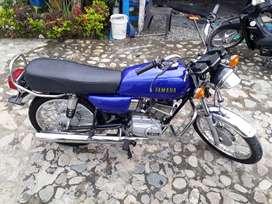 Yamaha rx 100 india.