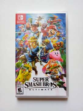 Smash Bros Nintendo Switch Nuevo y Sellado