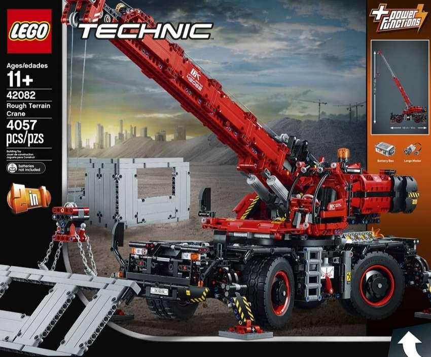 Lego Technic Grua Para Terrenos Dificiles