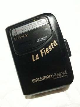 Walkman La Fiesta Fm Am Cassette