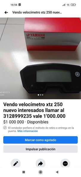 Tablero o tacometro xtz 250  nuevo