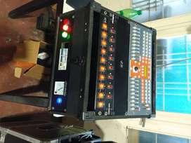 Consola, Rack de iluminación, luces, control Dmx