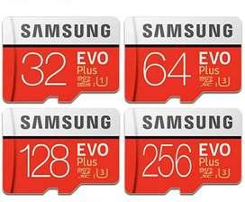 Samsung Memoria Sd 512gb 128gb 64gb Nuevo Clase 10