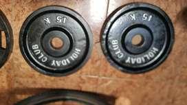 discos olimpico de 15 kilos