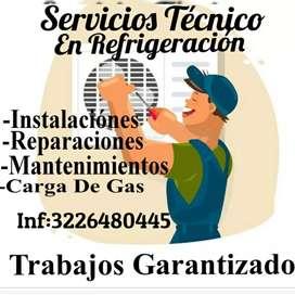 Servicios Tecnico En Refrigeracion