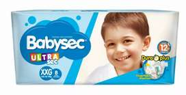 Pañales baby sec xxg pack 34