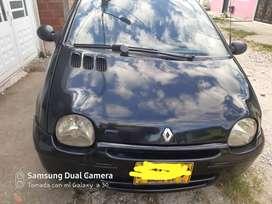 Renault Twingo 2006 negro muy bien cuidado