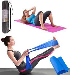 Colchoneta Yoga Tapete De Ejercicio Gimnasia Pilates 6mm