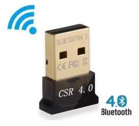 Adaptador Bluetooth Usb Csr 4.0 Dongle Plug&play