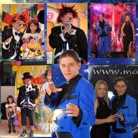 Show de magia virtual y presencial-fiestas -Recreacion -mago -payaso