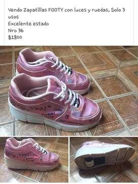 Vendo zapatillas FOOTY