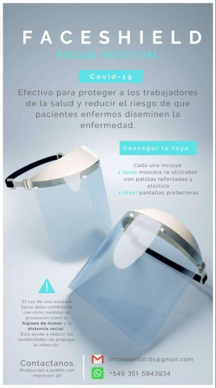 FaceShield Mascaras Protectoras 0