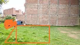 Se vende terreno de 152 metros cuadrados - Chilca