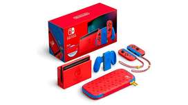 Nintendo Switch Mario Red & Blue Edición Limitada