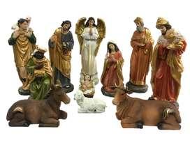 Pesebre Navidad x11 Medida:25.4 Marca: Santini